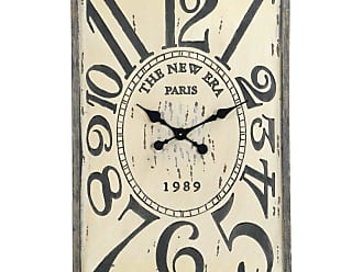 Zentique 36.5 in. Square Wooden Wall Clock - PC040