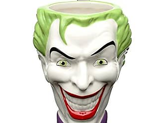 Zak designs BTMC-8515 DC Comics Coffee Mugs, Sculpted, Batman Joker