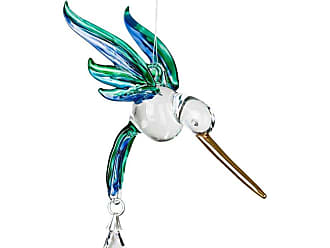 Woodstock Chimes Woodstock Fantasy Glass Hummingbird Suncatcher - CHPEA
