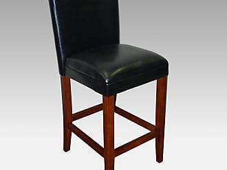 4D Concepts 30-Inch Deluxe Padded Bar Stool - Black - 559401