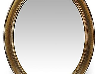 Infinity Instruments Sonore 30 Inch Antique Gold Wall Mirror