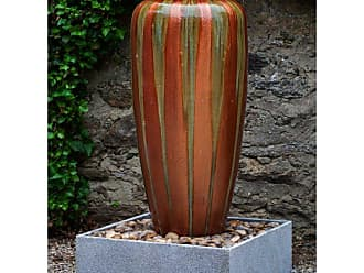 Campania International Catinat Jar Outdoor Fountain with Basin - GF-813-1601R