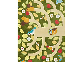 Jaipur Living Rugs Iconic by Petit Collage Nature Life Kids Area Rug, Size: 2 x 3 ft. - RUG128997