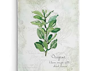 WEXFORD HOME Fresh Oregano Gallery Wrapped Canvas Wall Art, 24x32