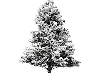 Niazitex Árvore de Natal Alaska Niazitex 2,50mx1,40m Verde/Branco