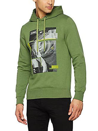 Sweat Jones Shirt Homme À Hood Capuche Jack Vert amp; Jcoacton Gm wqCxRH5
