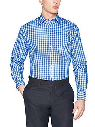Blau bianco royal quadri uomo uomo Nicholson a Camicia S James casual Camicia x8vwZWqz