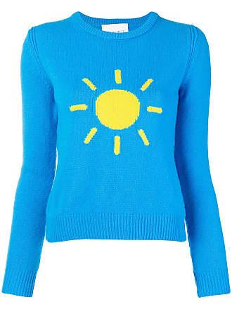 Sweater Ferretti Crew Bleu Alberta Sunshine Neck nxBwq1Oa86