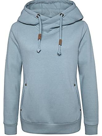 hoodie Sweat Damen Sublevel Light Xs blue eleganter Kapuzenpullover GrauSportlich In RosaBlauamp; N8vnOm0w