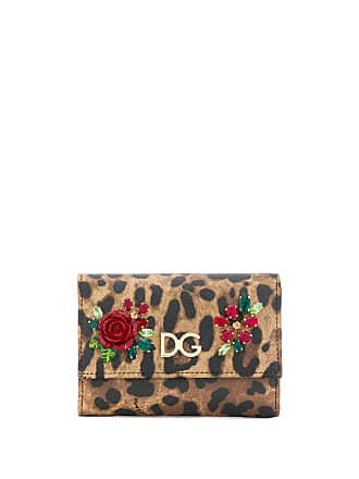 Mit printSchwarz Dolceamp; Portemonnaie Leoparden Gabbana Tc3JK1lF