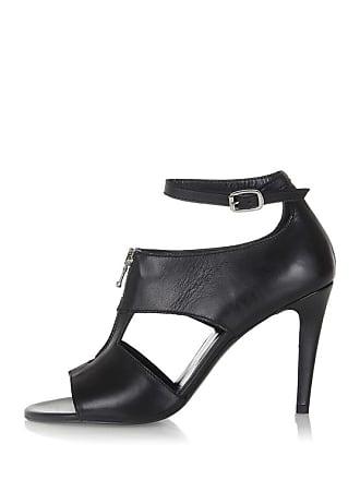 5 Black Leather 36 Sandal Cm Vivien Gold Heel Diesel 10 hhs Size C68dw6q