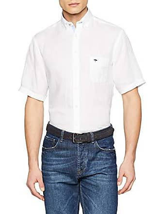 Camisa 44 hatton Sleeve Soft white Fynch talla Linen 2 6171 Para Blanco Del 1 Large Hombre Fabricante Solid qOO06Pd