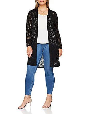 50 Pointelle Noir Longline Gilet black taille Fabricant 24 22 Femme Evans pfZTwxqOI