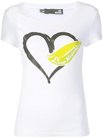 Hart Moschino Met Wit shirt Print T Love ItgwPqdxP