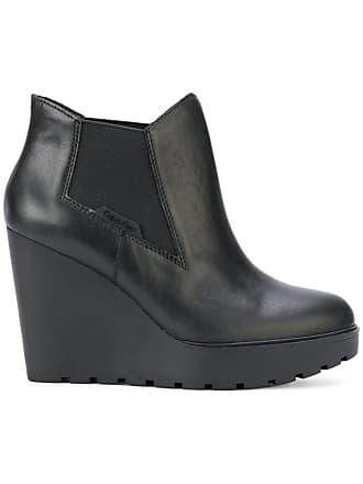 Klein Bottines Jeans Calvin Compensées Noir d175qw