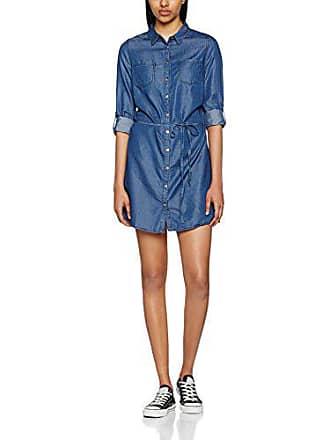 Del 482 Fabricante Chelondim Azul Para denim 40 Talla Mujer Cache Camisa Brut O0vz7q