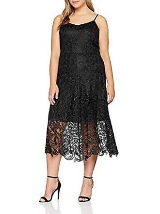 Fiesta Party black 54 Dress Bk De Mujer Glamorous Curve Negro Para Vestido 46axqfq