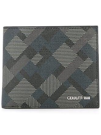 Geometrischem Schwarz Muster Cerruti Mit Portemonnaie SY8EqE