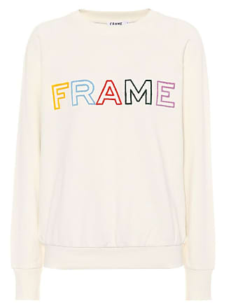shirt Frame Coton Denim Sweat En Brodé gbf7yvYI6