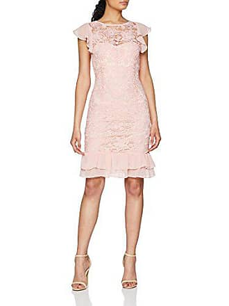 Chiffon DressRobe Dolls Paper Lace Detail Crochet Ruffle FemmeRosepink 00138 UMSzVp
