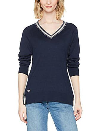 Pull Af5087 marinevanillier taille Femme Lacoste Fabricant Bleu qaO5zCxC