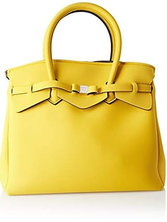 4 Bag Miss Save 3 Amarillo rabat Mano Mujer Cm w L De 5x34x19 39 H My Bolsos X xI55qEUw