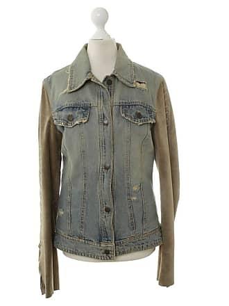 Mit Dolceamp; Oliv Lederärmeln De 38 Damen Jeansstoff GebrauchtJeansjacke Gabbana zGqSMpUV