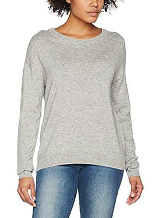 Gris 12 Sweater Femme grey Gant Cashmere Melange Blend Pull wqpXCRx
