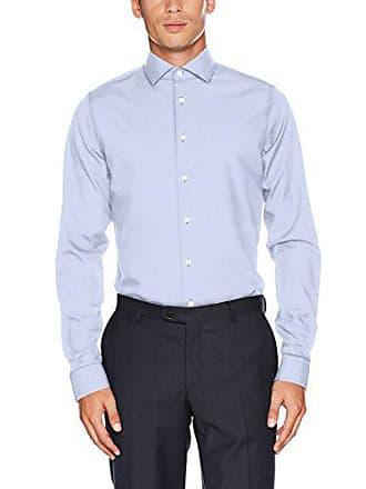 Herren Extra Slim Arm Tailored Langer Businesshemd Fit Seidensticker Gemustert SdwXqd