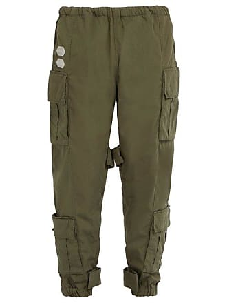 Cotton Off Rise Cargo Green Blend Mens whiteMid Trousers uPXOkZi