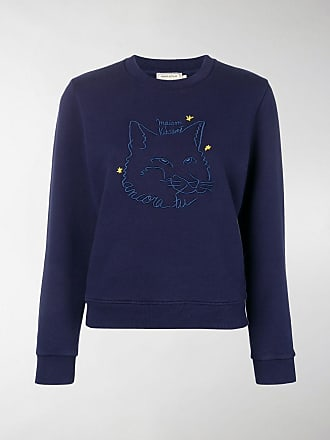 Embroidered Embroidered Maison Maison Sweatshirt Fox Kitsuné Embroidered Sweatshirt Fox Maison Fox Maison Kitsuné Sweatshirt Kitsuné Zqw7nU0fan