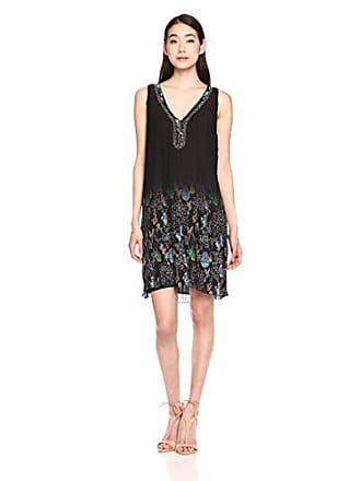 Vestido negro Para Xl Vest Mujer 2000 Desigual sophia wCqfHnp