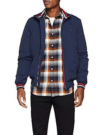 Iris Jeans Jacke 002 Langarm Bomberjacke Essential black Herren Small Tommy Blau Padded Bomber xFpng