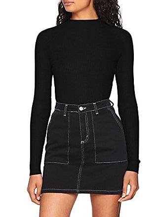 Eu Stand Suéter Jumper New Talla L black Mujer Look 01 Del 44 Fabricante Negro Para Neck ZxSSwAnR