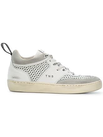 Crown Leather Blanc Hi top Iconic Sneakers fxwgCqd