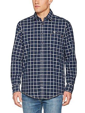 blau 48 per Casamoda uomo 100 Camicia blu 472802900 xpBaqXUwg