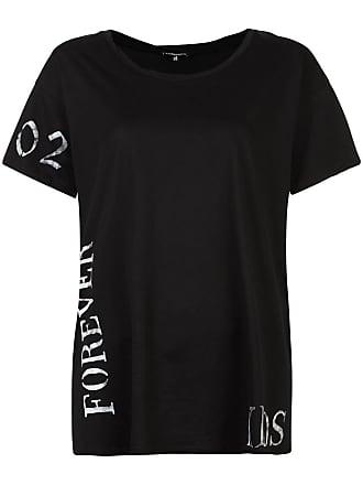 Noir Forever T shirt Ann Demeulemeester Print axqX4