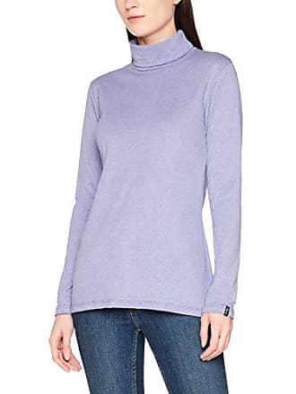 Roulé À Col enzian Violet Femme Melange Trigema 502010 Pull IFSqw4px