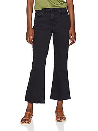 34w Femme Évasé 16l32 1 black X New Noir Jean Flare Crop Hannah 32l Look Kick taille Fabricant npqwHAP0