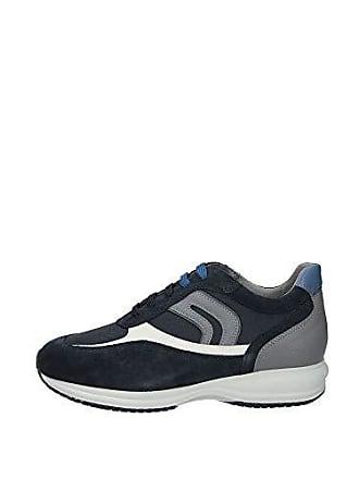 C0661 Geox p Eu grey U Basses 43 Happy Art navy Sneakers Bleu Homme vrvHqn