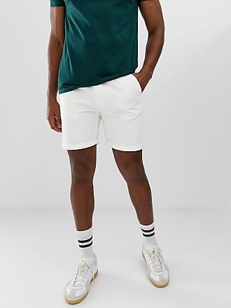 Bellfield Blancos Chinos Cortos De Pantalones qA6AY8W