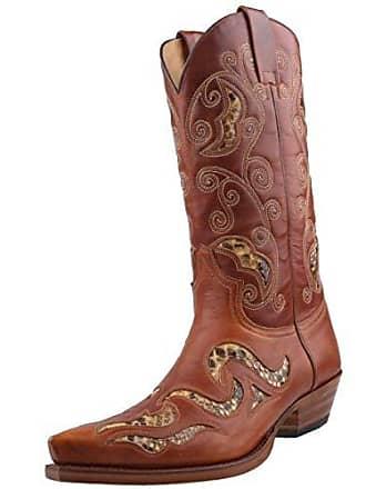 7490 Braun Dunn´s Sendra Cowboystiefel InclRoy In Lederfett45 jq35ALc4SR