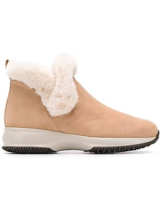 Neutres Tons Ankle Boots Hogan Shearling 0vqZxOIw