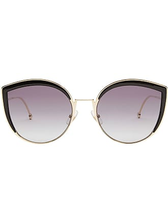 Fendi Effetto Sunglasses Metallizzato F Is 0wrT0S