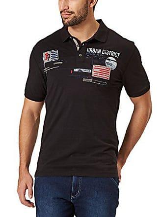 Jeans Homme Shirt Noir Large Authentic Pioneer Polo 11 Hqp8F