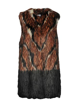 amp; Furs Jackets Coats My Twin Faux Twinset f84wR7xpqF