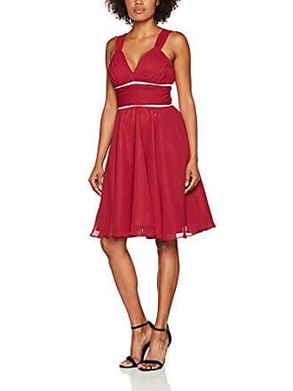 Co08008 Para s 38 rojo Mujer Vestido Astrapahl FdRqwWx466