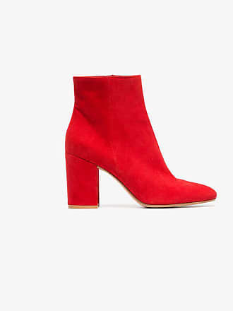 Leather Margaux Red Gianvito Ankle Suede Rossi 85 Boots wqBvAX7