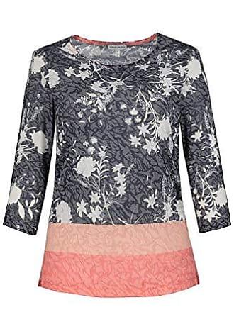 rose Gina 56 3 Rosa Laura Large Blumenprint 4 Para Arm Mujer Shirt Sudadera vv1qMO