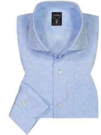 Tailor Herren Laack Leinenhemd Fit blau Van qOE4x7Tww